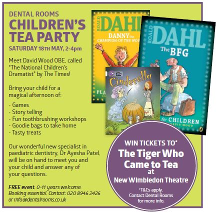 Children's Tea Party at Dental Rooms