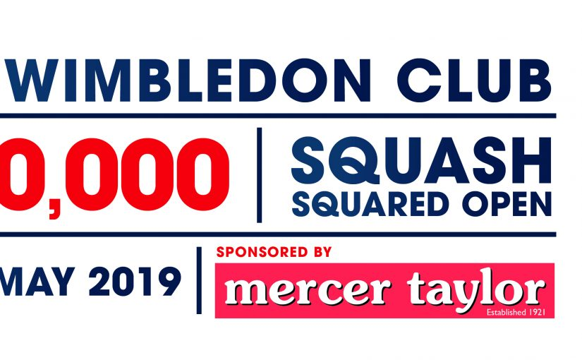 WIN Tickets to World Tour PSA Tournament at The Wimbledon Club